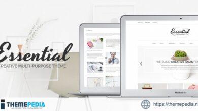 Essential – Creative Multi-Purpose Portfolio Theme [Updated Version]