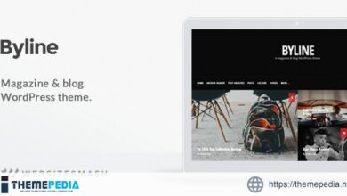 Byline – Magazine & Blog WordPress Theme [Free download]