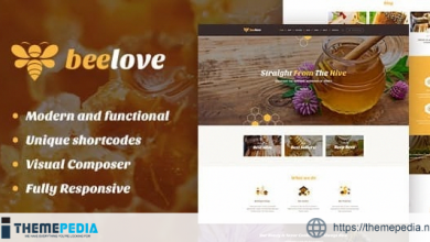 Beelove – Honey Production and Sweets Online Store WordPress Theme [Latest Version]