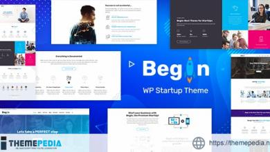 Begin – Startup WordPress SaaS Theme [Free download]