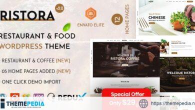 Ristora – Restaurant & Food WordPress Theme [Free download]