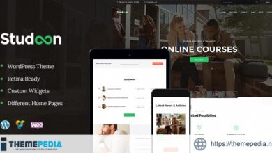 Studeon – An Education Center & Training Courses WordPress Theme [Free download]