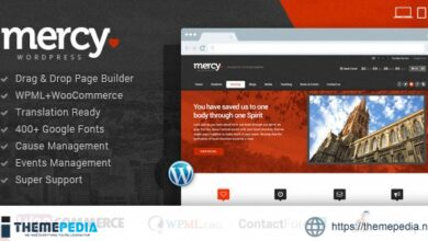 Mercy-NGO Charity & Environmental-Political Theme [Free download]
