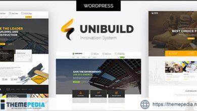 Factory, Industry, Construction Building WordPress Theme – Unibuild [Free download]