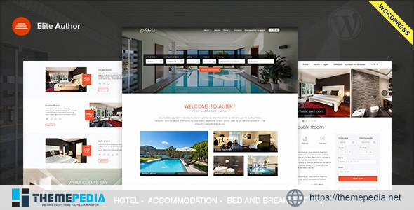 Albert – Hotel and Bed&Breakfast WordPress Theme [Updated Version]