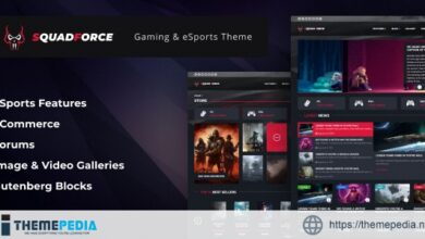 SquadForce – eSports Gaming WordPress Theme (formerly Good Games) [Updated Version]