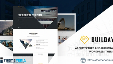 Builday – Modern Architech And Building WordPress Theme [Free download]