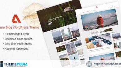 Azure – Blog WordPress Themes [Updated Version]