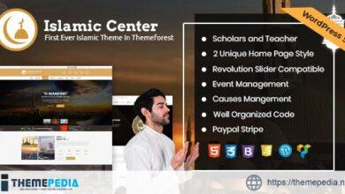 Islamic Center WordPress Theme – Hijri Calendar [Free download]
