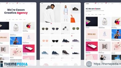 Casen – Minimal Portfolio & WooCommerce WordPress Theme [Free download]