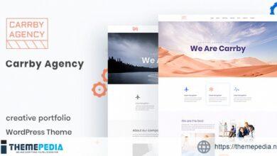 Carrby – Agency Portfolio WordPress Theme [Free download]