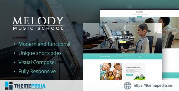 Melody – Arts & Music School WordPress Theme [Updated Version]
