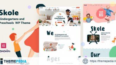 Skole – Kindergarten WordPress [Updated Version]