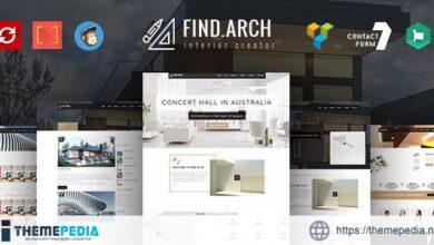 Find ARC – Interior Design, Architecture – WordPress Theme [Free download]