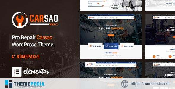 Carsao – Responsive Car Service WordPress Theme [Free download]