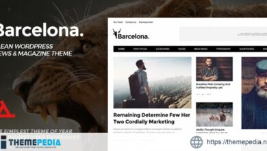 Barcelona. – Clean News & Magazine WordPress Theme [nulled]