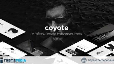 Coyote – Multipurpose WordPress Theme [Free download]