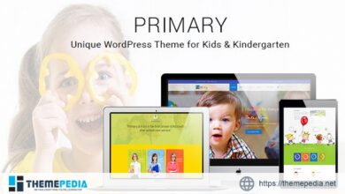 Primary -Kids and School WordPress Theme – Education Material Design WP [Updated Version]