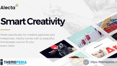 Alecta – Creative Agency Theme [Free download]