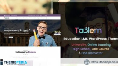 Taalem – Education LMS WordPress Theme [Updated Version]