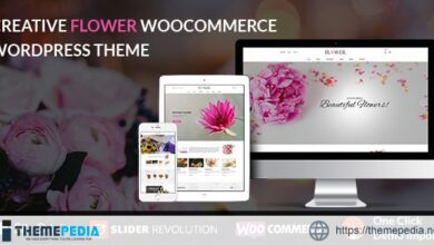 Creative Flower Woocommerce WordPress Theme [Latest Version]
