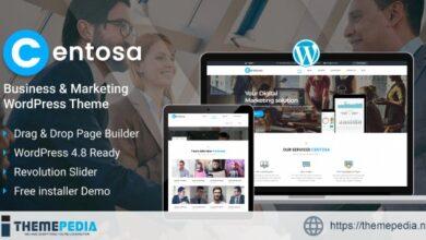 Centosa – Business & Marketing WordPress Theme [Free download]