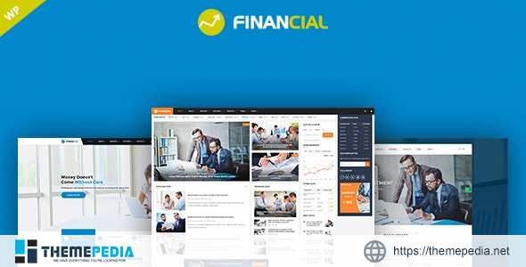 Financial – Business & Consulting WordPress Theme [Free download]