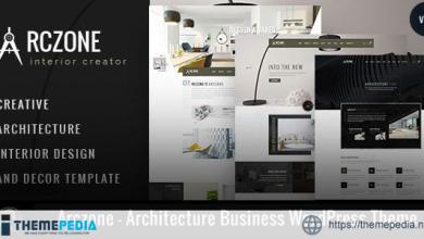 Arczone – Architecture Business WordPress Theme [Free download]