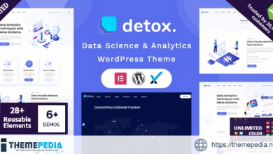 Detox – Data Science & Analytics WordPress Theme [Free download]