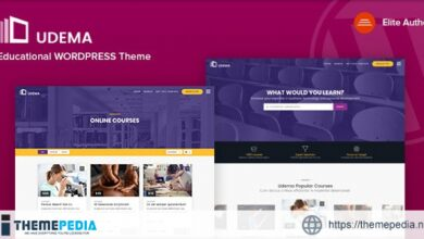 UDEMA – Modern Educational WordPress Theme [nulled]