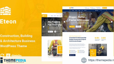 Eteon – Construction And Building WordPress Theme [Free download]