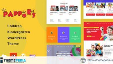 Pappory – Children Kindergarten WordPress Theme [Free download]
