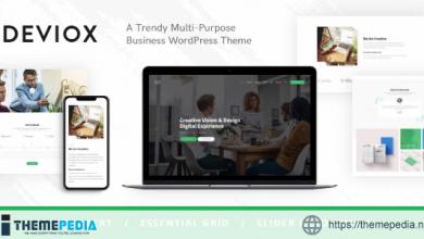 Deviox – A Trendy Multi-Purpose Business WordPress Theme [Free download]
