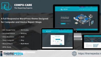 Compu-Care Computer & Mobile Repair Shop – WordPress Theme [Free download]