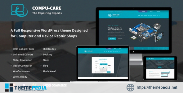 Compu Care Computer Mobile Repair Shop Wordpress Theme Free Download Get Instant Access To The Wordpress Premium Themes