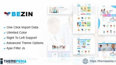 Bezin – Pharmacy & Health WooCommerce Theme [Free download]