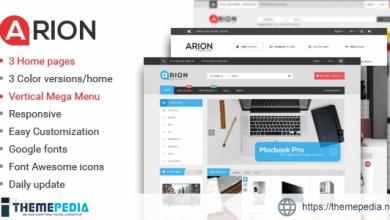 Arion – Responsive Multi-purpose WordPress Theme [Updated Version]
