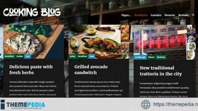 Cooking Blog — Food Recepies WordPress Theme [Updated Version]