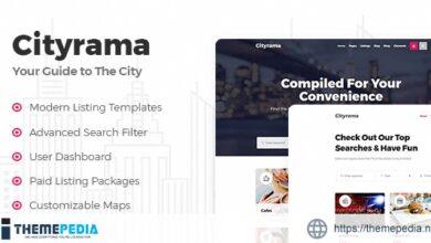 Cityrama – Listing & City Guide Theme [Free download]
