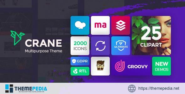 Crane – Responsive Multipurpose WordPress Theme [Free download]