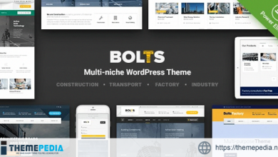 Bolts – WordPress Theme for Construction, Transport and similar Business [Updated Version]