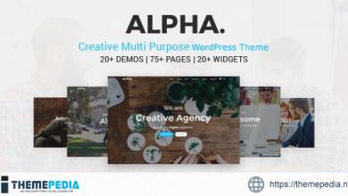 Alpha Dot Multi Purpose WordPress Theme [Updated Version]