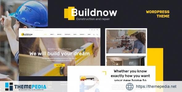 Buildnow – Construction & Building WordPress Theme [Free download]
