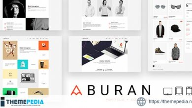 BURAN – Creative Portfolio and Business WordPress Theme [Updated Version]