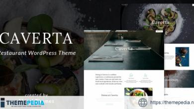 Caverta – Fine Dining Restaurant WordPress Theme [Free download]