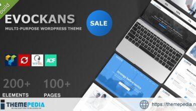 Evockans – Responsive Multi-Purpose WordPress Theme [Free download]