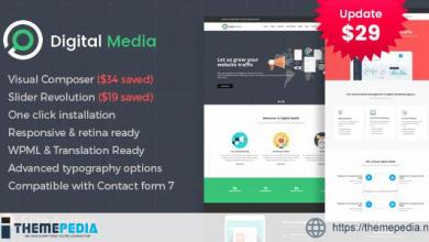 Digital Media – Online Marketing WordPress theme [Free download]