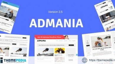 Admania – Adsense WordPress Theme With Gutenberg Compatibility [Updated Version]