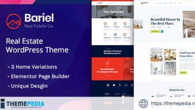 Bariel – Real Estate WordPress Theme [Free download]