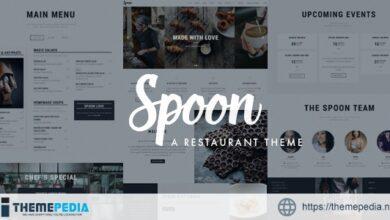 Spoon – a Premium Responsive Restaurant WordPress Theme [Free download]